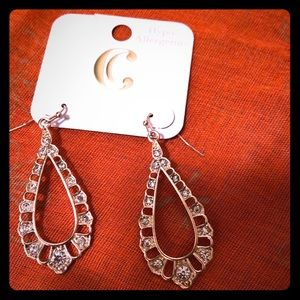 Gold plated earrings hypoallergenic